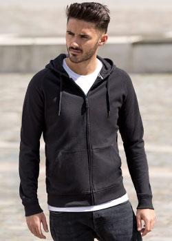 Men´s HD Zipped Hood Sweat