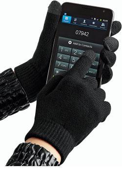 Mobilvennlige hansker
